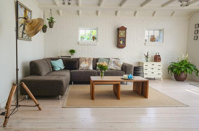 dřevěný obývák