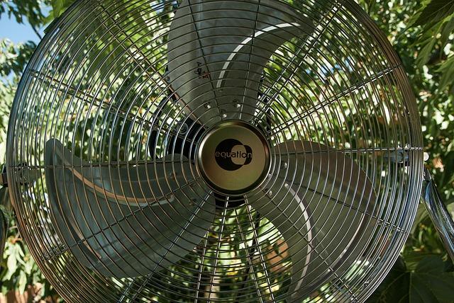 klasický ventilátor