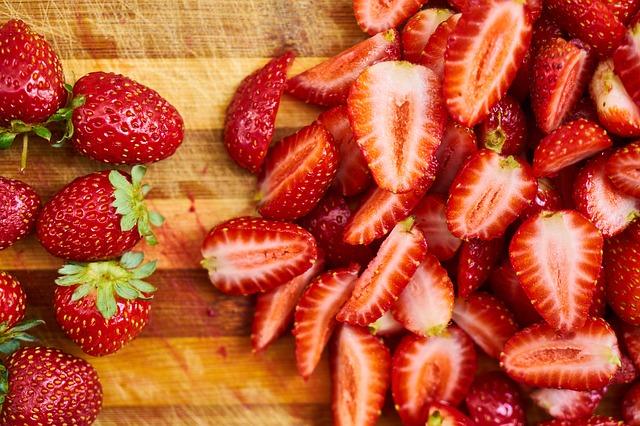 porcované jahody
