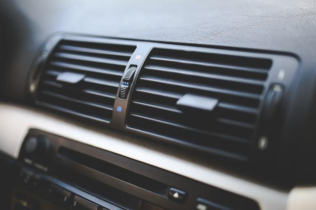 klimatizace vozu