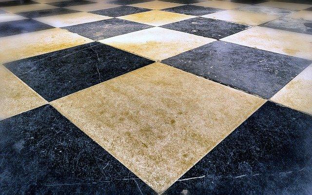 Podlaha kostky